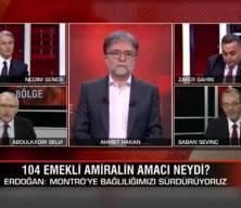 CNN ekranından sert tartışma! Ahmet Hakan reklama gitmek zorunda kaldı