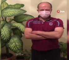 Zonguldak'ta korona olan adam, evde çektiği videolarla herkesi güldürdü!