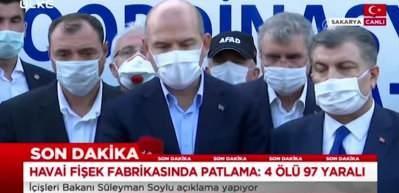 """İçişleri Bakanı Süleyman Soylu: """"Şu anda söndürme çalışması tamamen sona erdi"""""""