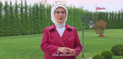 Emine Erdoğan'dan 'Dünya İşaret Dili Günü' paylaşımı