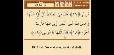 Taha Suresi Arapça okunuşu ve anlamı!