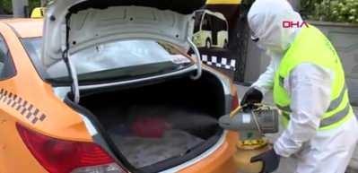 Taksilere 'hijyenik ticari araç' belgesi veriliyor
