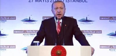 Tarihi açılışta Başkan Erdoğan'dan önemli açıklamalar - 1