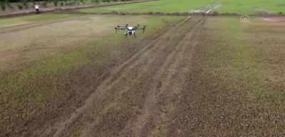 Tarım alanları ZİHA ile havadan ilaçlanacak -