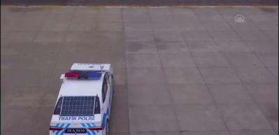 Taşınabilir 3 boyutlu 'Polis aracı' üretildi Artık Türkiye yollarında!