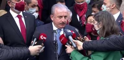 TBMM Başkanı Mustafa Şentop'tan yeni anayasa açıklaması