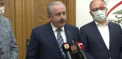 """TBMM Başkanı Şentop: """"Mescid-i Aksa'da yapılan vahşettir"""""""