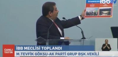 Tevfik Göksu CHP'li İBB'nin siyasi intihalciliğini ifşa etti!