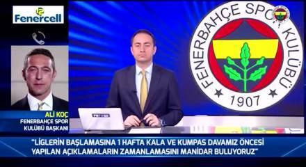 Ali Koç'tan flaş Nihat Özdemir açıklaması