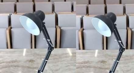 Bu masa lambası yenilebiliyor!