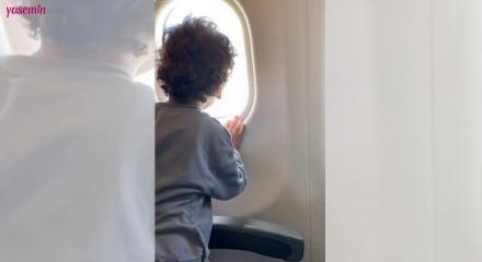 Oyuncu Gökçe Akyıldız'ın oğlu şirinliğiyle sosyal medyayı salladı!