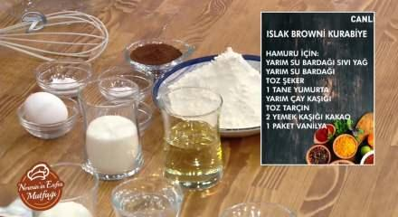Kakaolu ıslak kurabiye nasıl yapılır? En kolay browni kurabiye tarifi