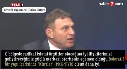 Skandal bildiride imzası olan Emekli Tuğamiral Türker Ertürk: Sınırımızda  PYD olsun daha iyi - Video 7