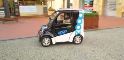 """Elektrikli mini araç """"paylaşımlı"""" olarak yollara çıkacak"""