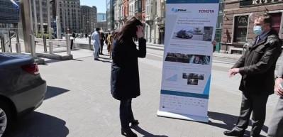 Toyota'nın sürücüsüz Lexus LS modeli Brüksel caddelerinde sürüş testleri gerçekleştiriyor