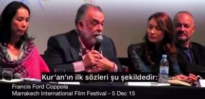 Oscarlı yönetmenden Muhteşem Fatiha suresi yorumu