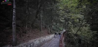 Trabzon'un turizm durağı Sümela Manastırı
