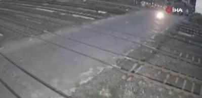 Tren motosikleti biçti