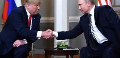 Trump Rusya bize tıbbi malzeme gönderdi
