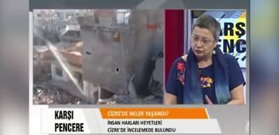 TTB Başkanı Fincancı: Türkiye Cizre'de sivilleri öldürdü uluslararası mahkemelerde yargılanmalı