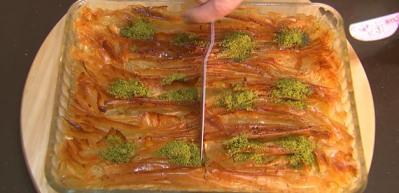 Tül perde tatlısı nasıl yapılır? Tül perde tatlısının püf noktaları