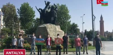 Türk Gençliğinden Azerbaycan'a mesaj!