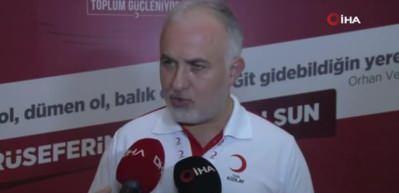 """Türk Kızılay Başkanı Kınık: """"Önümüzdeki 3 ay kritik"""""""