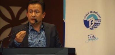 Tuzla Belediye Başkanı Yazıcı: 40 yıllık meseleyi çözüyoruz. Siz hayır oyu veriyorsunuz