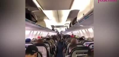 Uçak içi kargaşaya son! İşte uçaktan inme kuralı...
