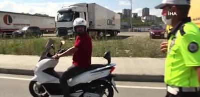 Ülke genelinde 23 bin personelle motosiklet denetim