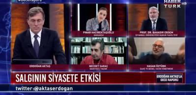Ülke TV Genel Yayın Yönetmeni Hasan Öztürk'ten Hukukçu Bahadır Erdem'e cevap!
