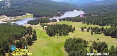 Afyonkarahisar'ın doğal güzellikleri Akdağ Tabiat Parkı