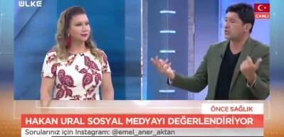 Ünlü sanatçı Hakan Ural Ülke TV'de sosyal medyada denetimin önemine dikkat çekti