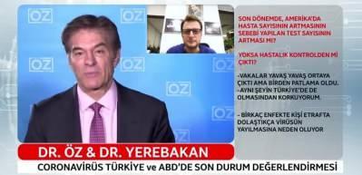 Dr. Mehmet Öz ve Dr. Halit Yerebakan son durumu değerlendirdi!