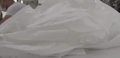 Vaka görülmeyen belde iki milyon maske üretti