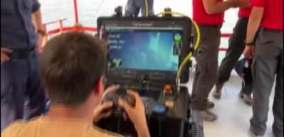 Van Gölü'nde kaybolan tekne 107 metre derinlikte bulundu! İlk görüntüler