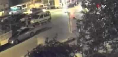 Vicdansız sürücü çarpıp kaçtı