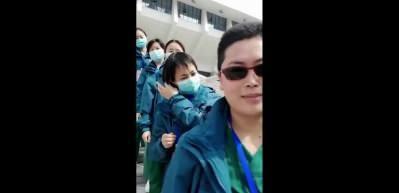 Wuhan'daki doktorlardan virüsü yendik videosu!