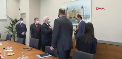 Sözcü Kalın, ABD Suriye Özel Temsilcisi ile görüştü