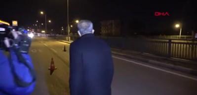 Yavuz Bingöl devriyedeki polislere çorba dağıttı!