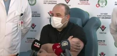 Yerli aşı olan Bakan Varank'tan açıklama