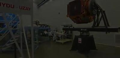 Yerli ve milli uydu İmece'nin son montajı yapıldı