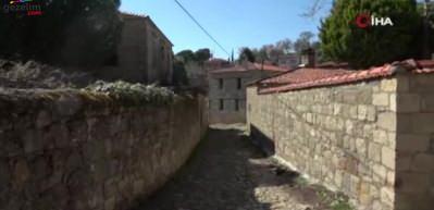 Yılda 200 bin ziyaretçi ağırlayan Çanakkale Adatepe Köyü