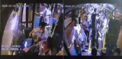 Yolcular bayramını tebrik etmedikleri otobüs şoföründen alkışla özür diledi