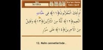 Zenginlik için Vakıa suresi Arapça okunuşu! Vakıa suresi meali