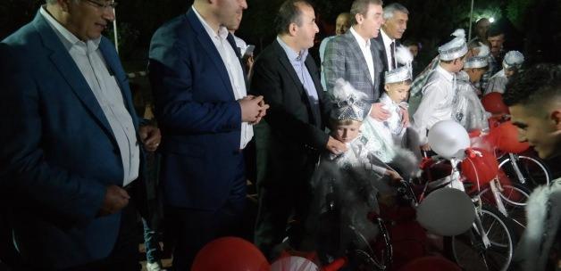 Kömür Festivali'nde 13 çocuk sünnet ettirildi