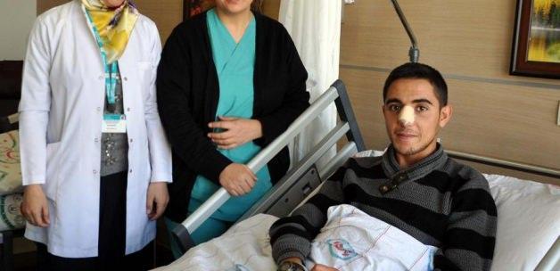 Muş Devlet Hastanesinde başarılı burun ameliyatı