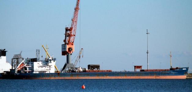 Samsun Limanı'nda bekletilen Rus bandıralı gemiler