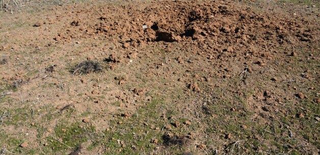 Karkamış'a DAEŞ mevzilerinden havan mermisi atıldı