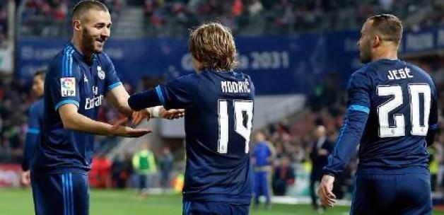 Modric, Real'i 85'te ipten aldı